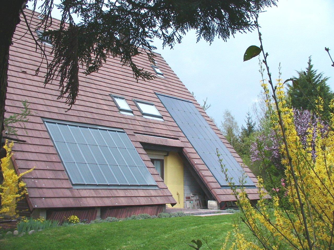 les diff rents types d 39 installations solaires. Black Bedroom Furniture Sets. Home Design Ideas